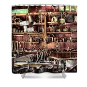 Cerro Gordo Museum Shower Curtain