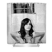 Cesira Palm Springs Shower Curtain