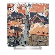 Ceske Krumlov 1 Shower Curtain
