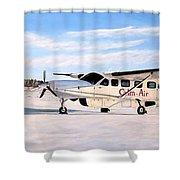 Cessna 208 Caravan Shower Curtain