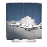 Cessna 680 Shower Curtain