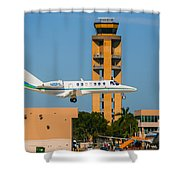 Cessna Citation Shower Curtain