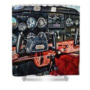 Cessna Cockpit Shower Curtain