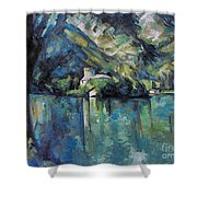 Cezanne: Annecy Lake, 1896 Shower Curtain