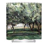Cezanne: Le Clos Normand Shower Curtain