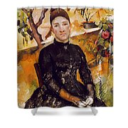 Cezanne: Mme Cezanne, 1890 Shower Curtain