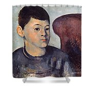 Cezanne: Portrait Of Son Shower Curtain