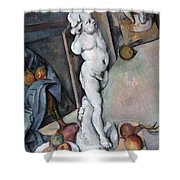 Cezanne: Sill Life, C1895 Shower Curtain