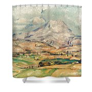 Cezanne: St. Victoire, 1897 Shower Curtain