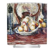 Cezanne: Still Life Shower Curtain