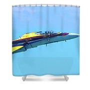 Cf-18 Hornet Shower Curtain