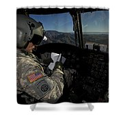 Ch-47 Chinook Pilot Refers Shower Curtain