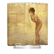 Chabas: September Morn Shower Curtain by Granger