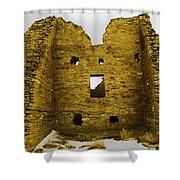 Chaco Canyon Ruins Shower Curtain