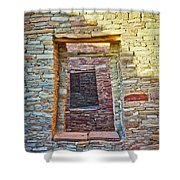 Chaco Canyon Windows Shower Curtain
