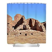 Chaco Ruins  Shower Curtain