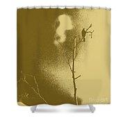 Chaffinch Tint Threshold Shower Curtain