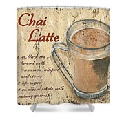 Chai Latte Shower Curtain