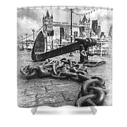 Chain And Anchor, Southwark Shower Curtain