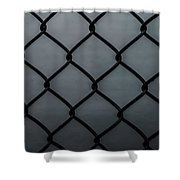 Chain Fence Shower Curtain