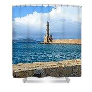 Chaina Harbor Shower Curtain