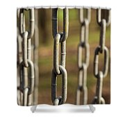 Chains Abstract 1 Shower Curtain