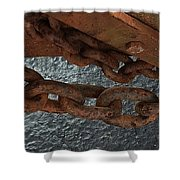 Chains To The Sea Shower Curtain