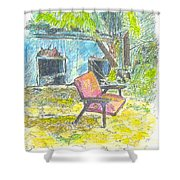 Chair, 27 September, 2015 Shower Curtain