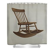 Chair Shower Curtain