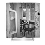 Chairs And Doors  Shower Curtain