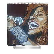 Chaka Khan Shower Curtain