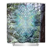 Chalice-tree Spirit In The Forest V3 Shower Curtain
