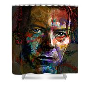 Chameleon, Comedian, Corinthian And Caricature Shower Curtain