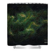 Chameleon Nebula Shower Curtain
