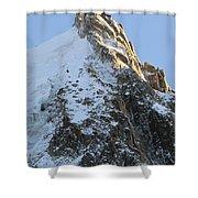 Chamonix - Aiguille Du Midi Shower Curtain