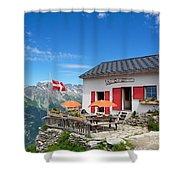 Chamonix Refuge Shower Curtain