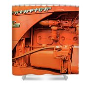 Champion 9g Tractor 02 Shower Curtain