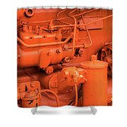 Champion 9g Tractor 04 Shower Curtain