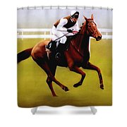 Champion Hurdle - Winner - Morley Street Shower Curtain