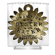 Champion Oyster Eater - To License For Professional Use Visit Granger.com Shower Curtain
