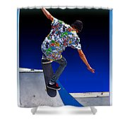 Champion Skater Shower Curtain
