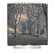 Champs De Mars Shower Curtain