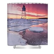 Chance Reflections  Shower Curtain