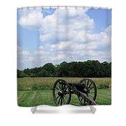 Chancellorsville Battlefield 3 Shower Curtain