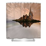 Chandara Shower Curtain by Corey Ford