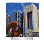 Chandler City Hall 2 Shower Curtain