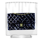 Chanel Bag Poster Shower Curtain