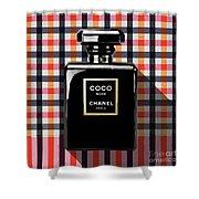 Chanel Coco Noir-pa-kao-ma2 Shower Curtain