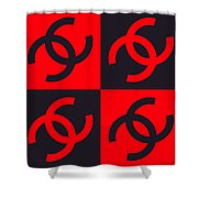 Chanel Design-3 Shower Curtain