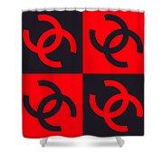 Chanel Design-4 Shower Curtain